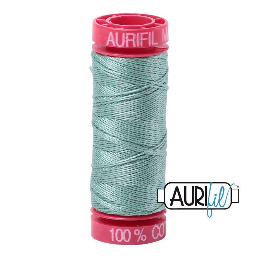Aurifil Cotton 12wt, 2845 Light Juniper