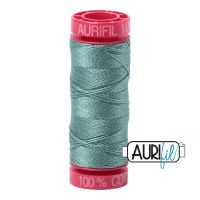 Aurifil Cotton 12wt, 2850 Medium Juniper