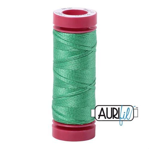 Aurifil Cotton 12wt, 2860 Light Emerald