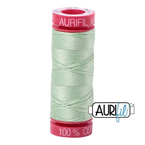 Aurifil Cotton 12wt, 2880 Pale Green