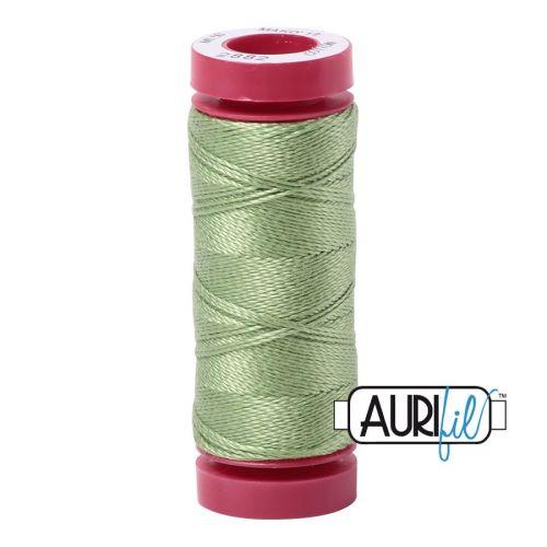 Aurifil Cotton 12wt, 2882 Light Fern