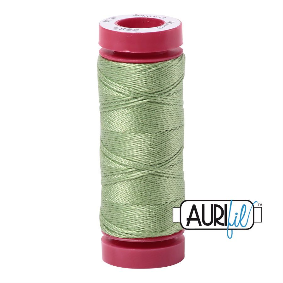 Aurifil Cotton 12wt, 2882 Light Fern