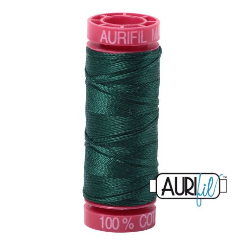 Aurifil Cotton 12wt, 2885 Medium Spruce
