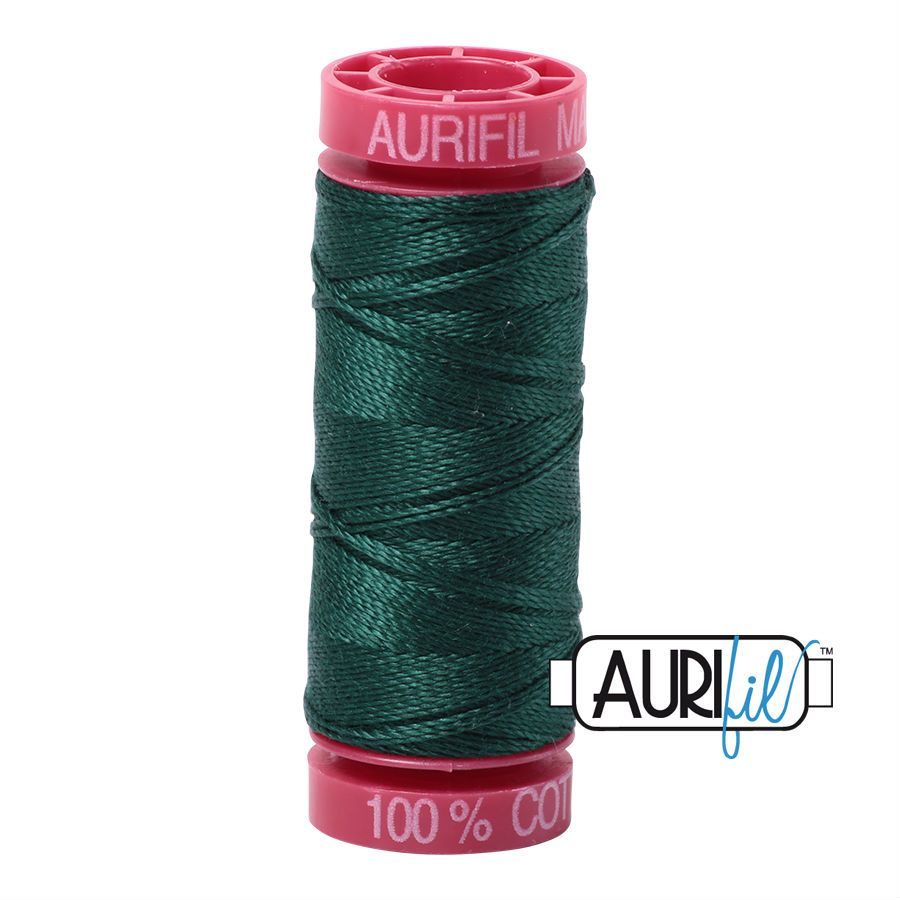 Aurifil Cotton 12wt, 2885 Medium Spruce