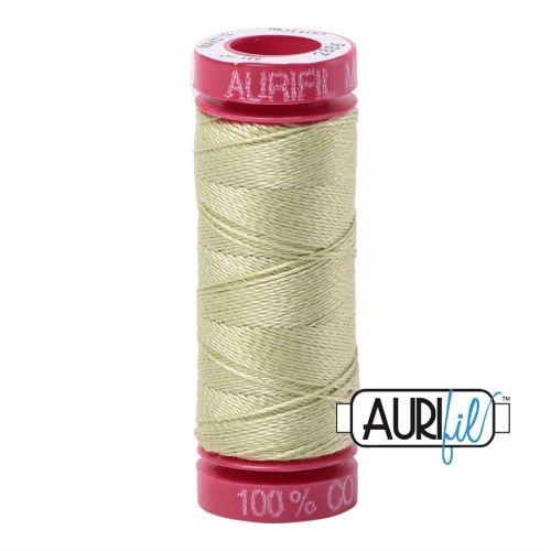 Aurifil Cotton 12wt, 2886 Light Avocado