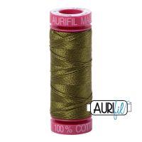Aurifil Cotton 12wt, 2887 Very Dark Olive