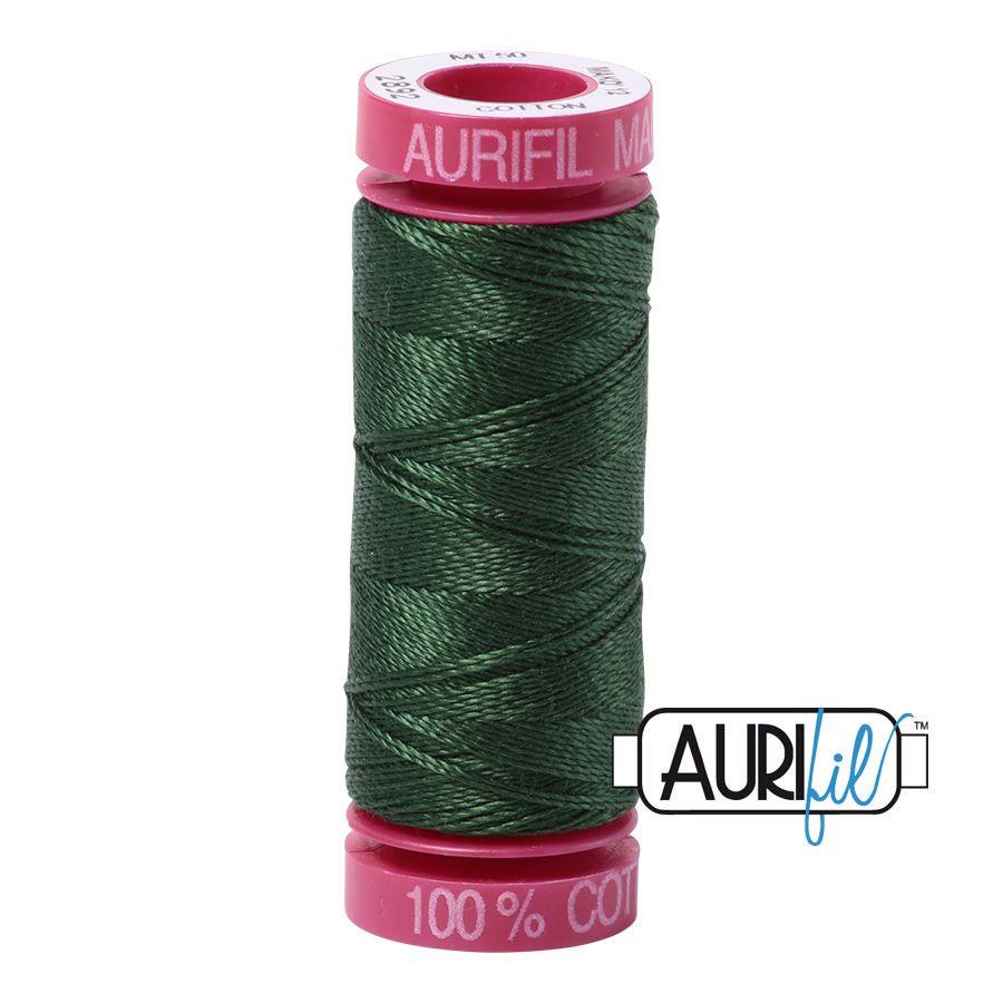 Aurifil Cotton 12wt, 2892 Pine