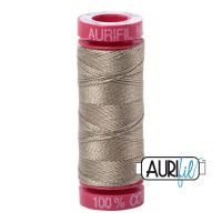 Aurifil Cotton 12wt, 2900 Light Khaki Green