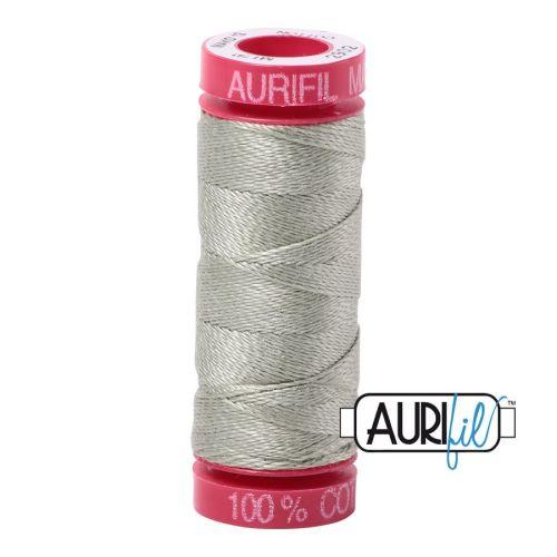 Aurifil Cotton 12wt, 2902 Light Laurel Green