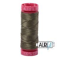 Aurifil Cotton 12wt, 2905 Army Green