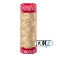 Aurifil Cotton 12wt, 2915 Very Light Brass