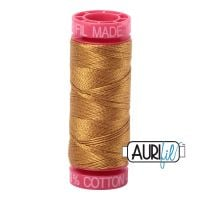 Aurifil Cotton 12wt, 2975 Brass