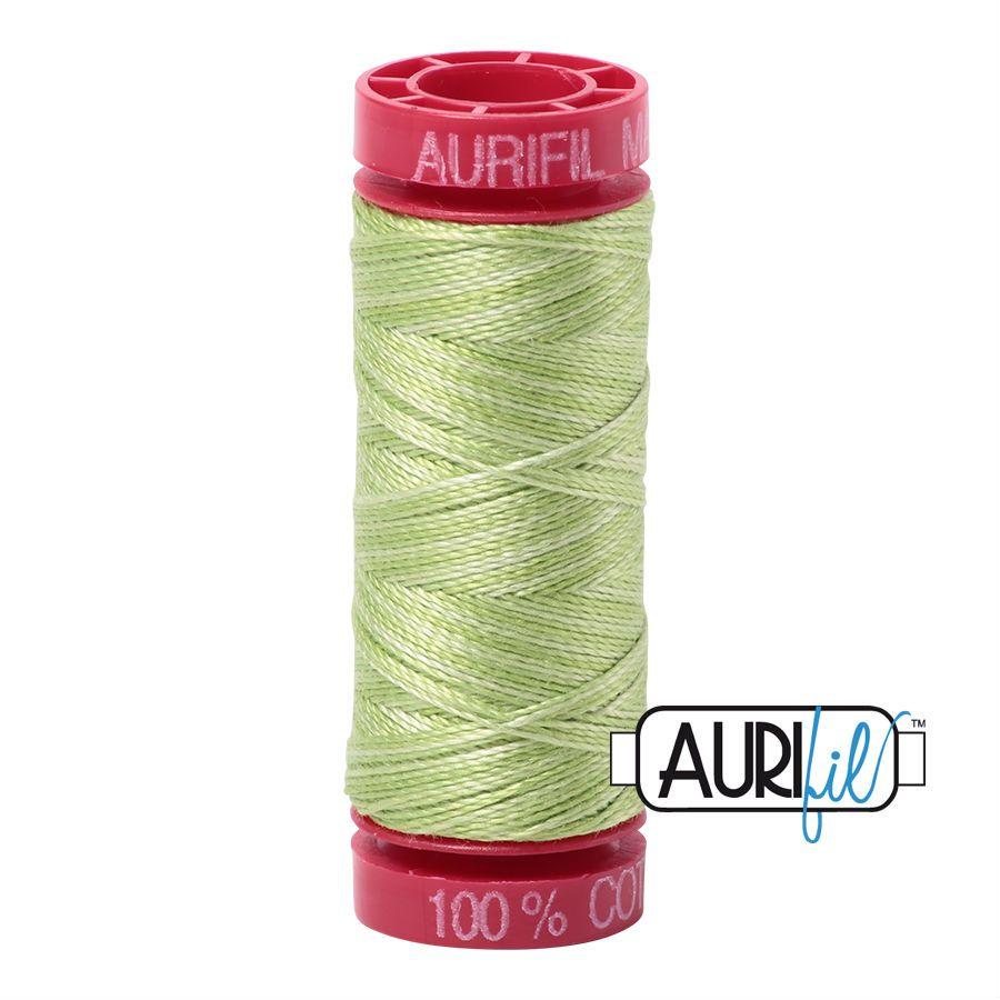 Aurifil Cotton 12wt, 3320 Light Spring Green
