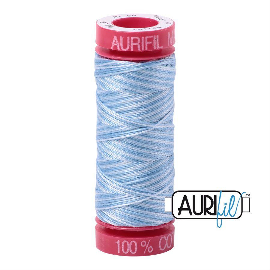 Aurifil Cotton 12wt, 3770 Stone Washed Denim