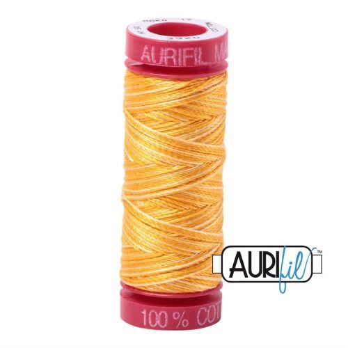 Aurifil Cotton 12wt, 3920 Golden Glow