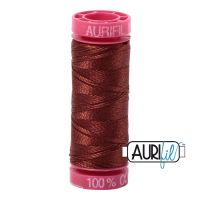 Aurifil Cotton 12wt, 4012 Copper Brown