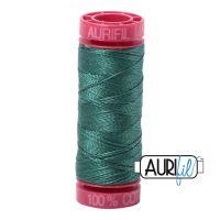 Aurifil Cotton 12wt, 4129 Turf Green