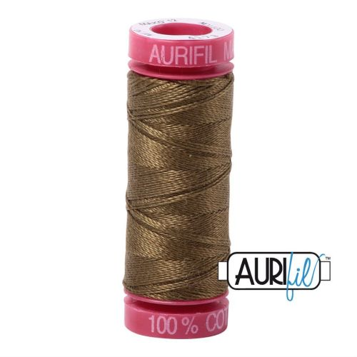 Aurifil Cotton 12wt, 4173 Dark Olive