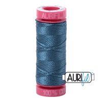 Aurifil Cotton 12wt, 4644 Smoke Blue