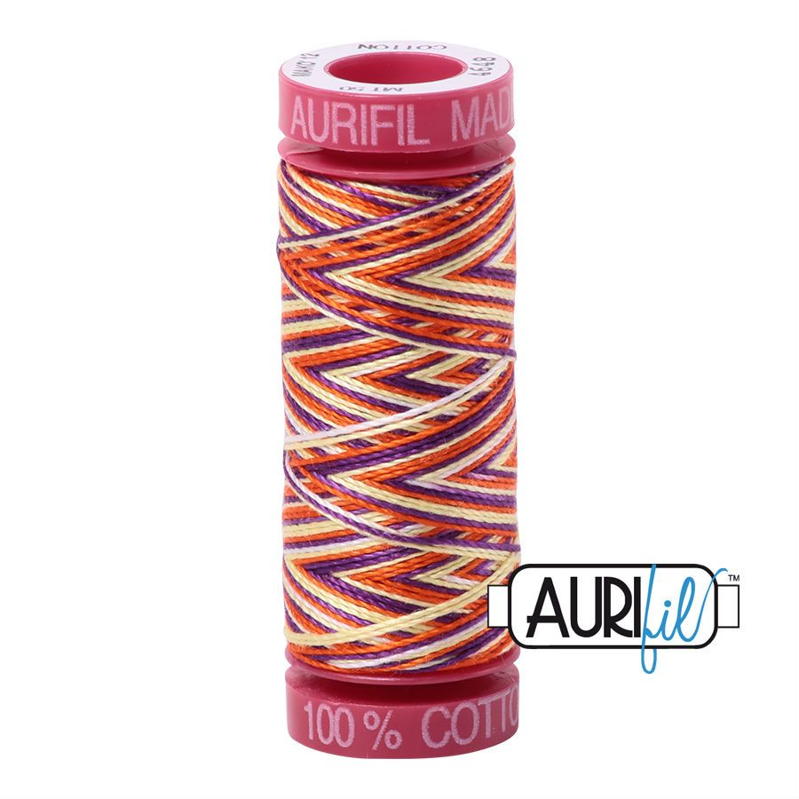 Aurifil Cotton 12wt, 4648 Desert Dawn
