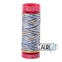 Aurifil Cotton 12wt, 4649 Lemon Blueberry