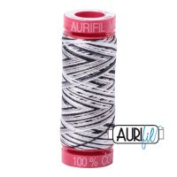 Aurifil Cotton 12wt, 4652 Licorice Twist