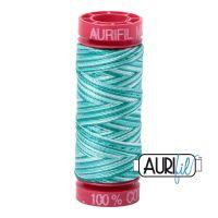 Aurifil Cotton 12wt, 4654 Turquoise Foam