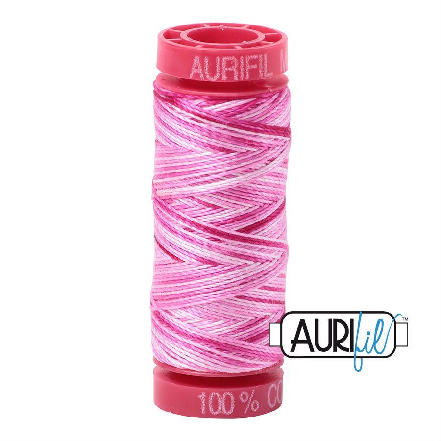Aurifil Cotton 12wt, 4660 Pink Taffy
