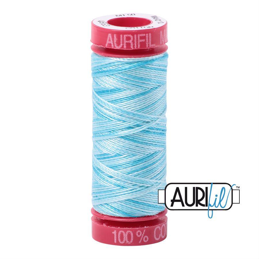 Aurifil Cotton 12wt, 4663 Baby Blue Eyes