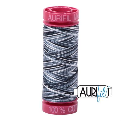 Aurifil Cotton 12wt, 4665 Graphite
