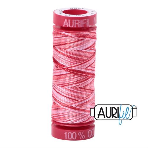 Aurifil Cotton 12wt, 4668 Strawberry Parfait