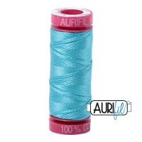 Aurifil Cotton 12wt, 5005 Bright Turquoise