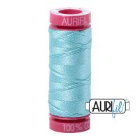Aurifil Cotton 12wt, 5006 Light Turquoise