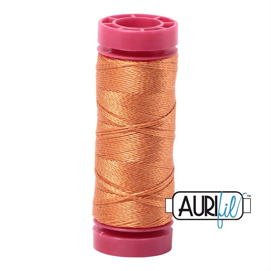 Aurifil Cotton 12wt, 5009 Medium Orange