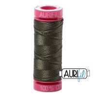 Aurifil Cotton 12wt, 5012 Dark Green