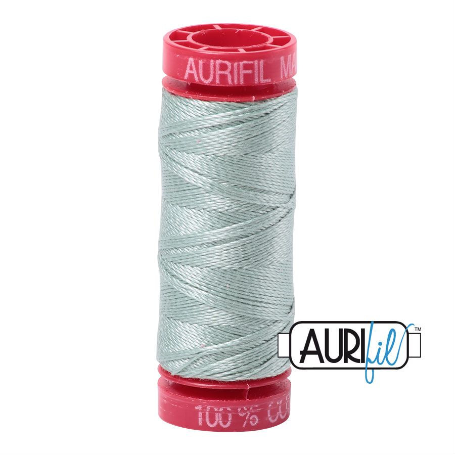 Aurifil Cotton 12wt, 5014 Marine Water