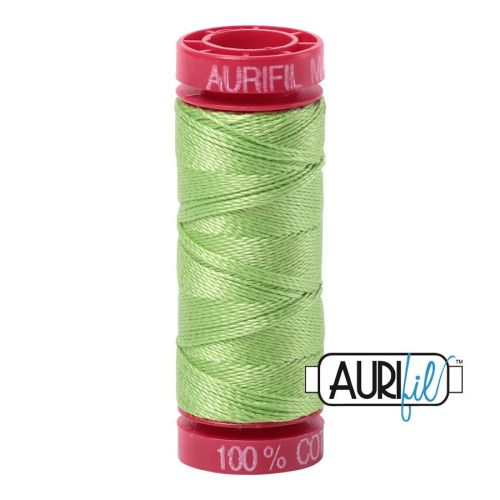 Aurifil Cotton 12wt, 5017 Shining Green