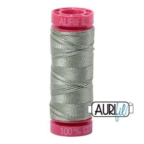 Aurifil Cotton 12wt, 5019 Military Green