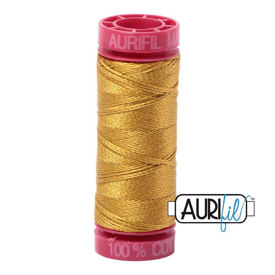 Aurifil Cotton 12wt, 5022 Mustard