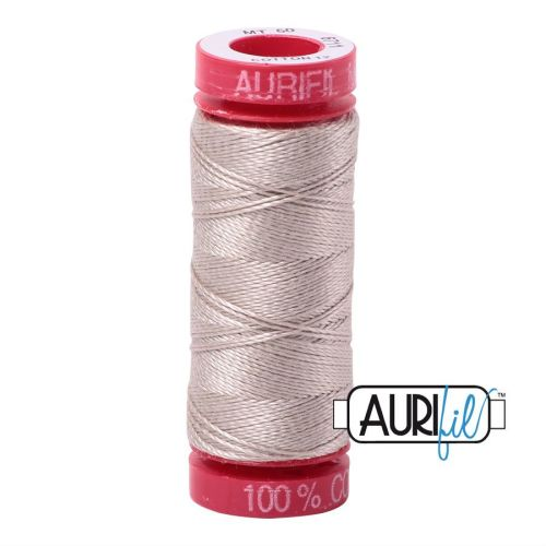 Aurifil Cotton 12wt, 6711 Pewter