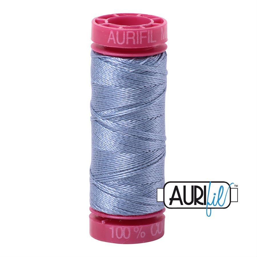 Aurifil Cotton 12wt, 6720 Slate