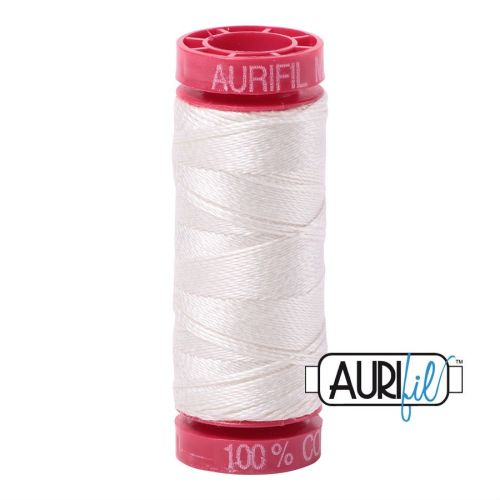 Aurifil Cotton 12wt, 6722 Sea Biscuit
