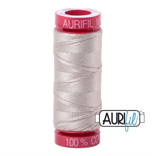 Aurifil Cotton 12wt, 6725 Moondust