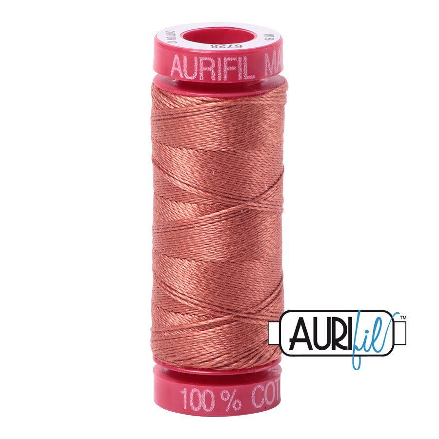 Aurifil Cotton 12wt, 6728 Cinnabar