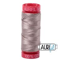 Aurifil Cotton 12wt, 6730 Steampunk