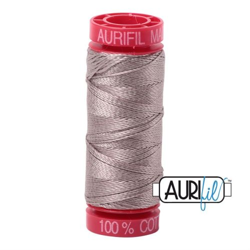 Aurifil Cotton 12wt, 6730 Steampunk