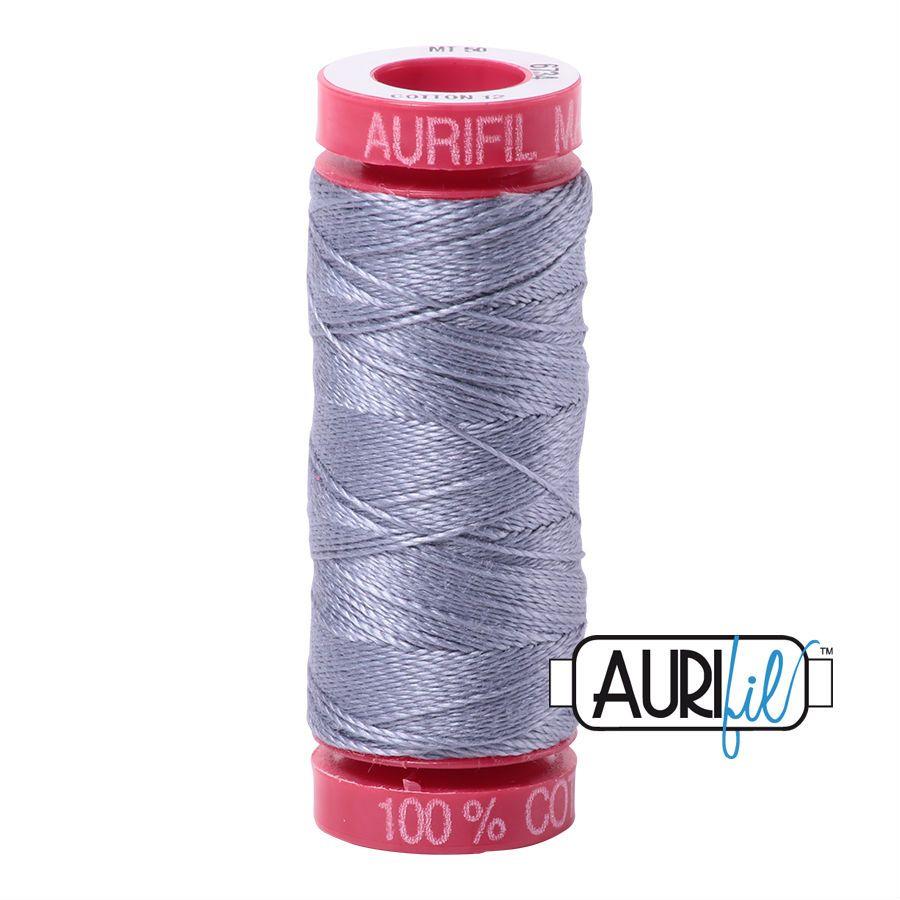 Aurifil Cotton 12wt, 6734 Swallow