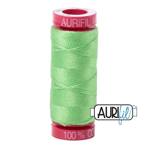 Aurifil Cotton 12wt, 6737 Shamrock Green