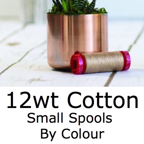 <!-- 001 -->12wt Small Spools by Colour