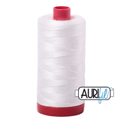 Aurifil Cotton 12wt, 2021 Natural White